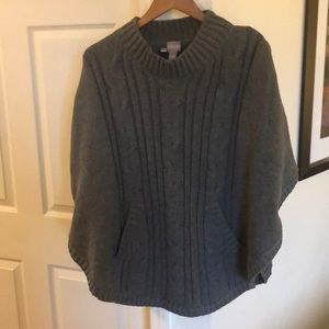 Chico's gray sweater size L/XL